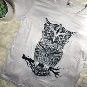 Tops - OWL T SHIRT